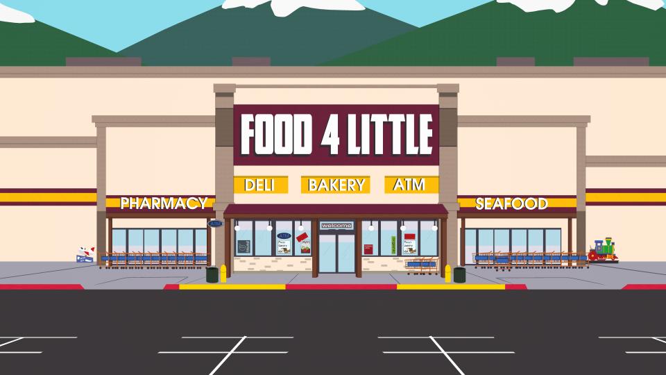 廉价食品超市