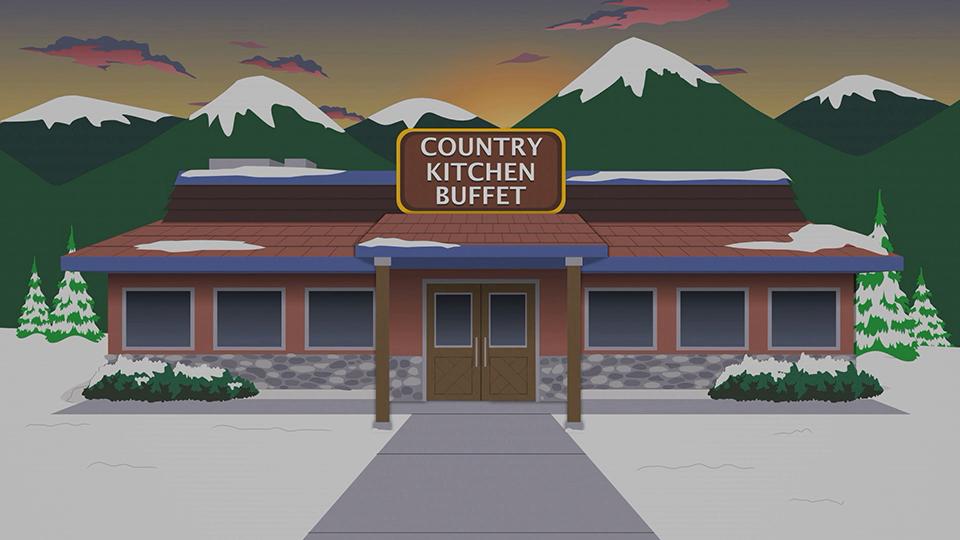 乡村厨房自助餐厅