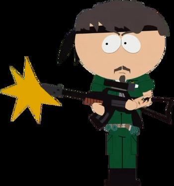 Vietnam Soldier