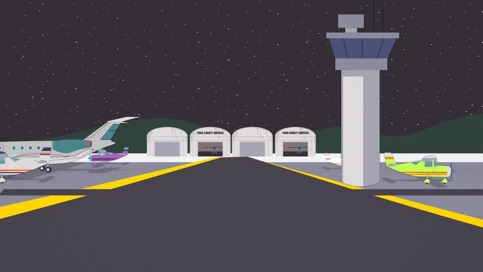 帕克县机场