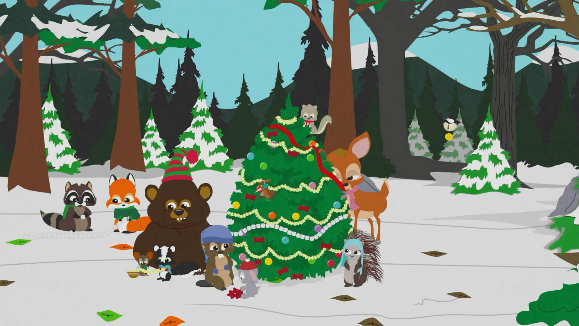 动物圣诞节