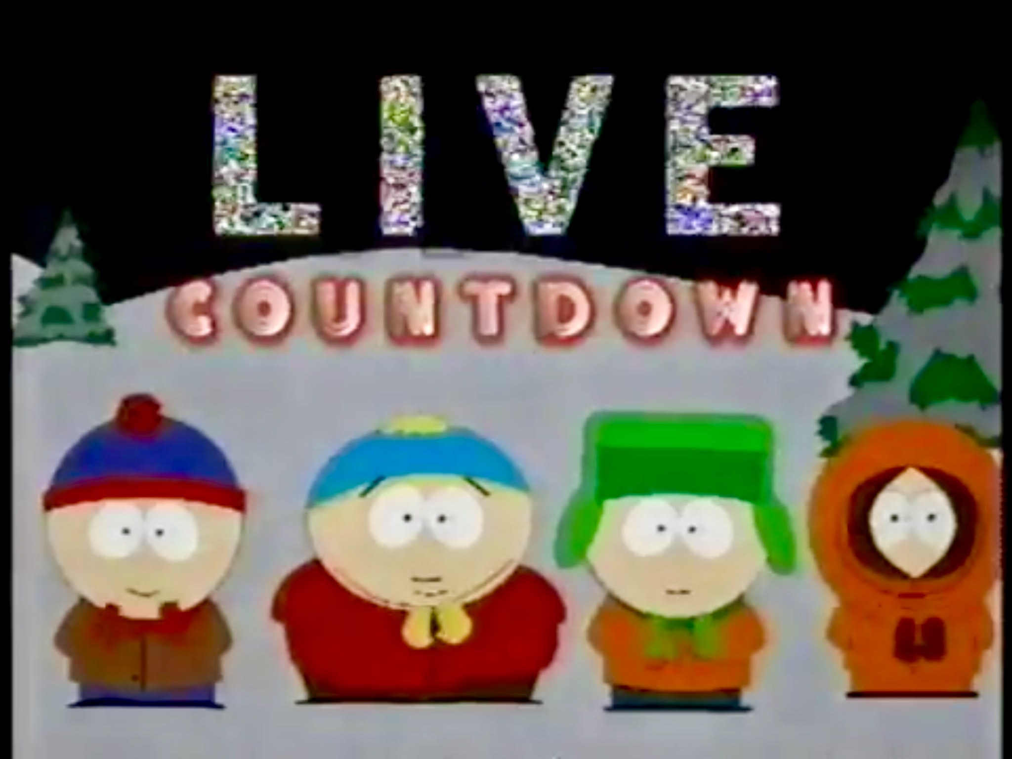 South Park 1997 New Years Bash Promo
