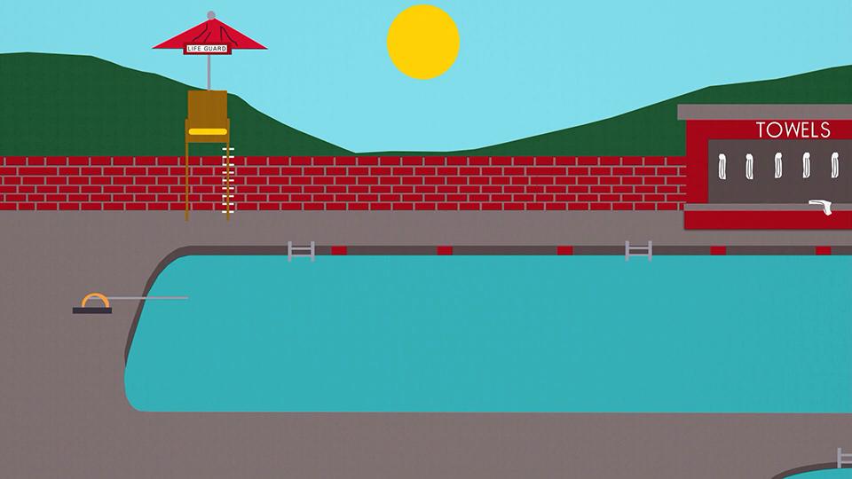 南方公园社区泳池