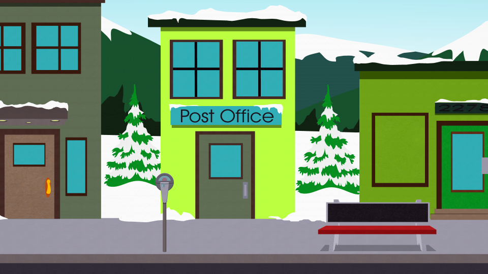 南方公园邮局