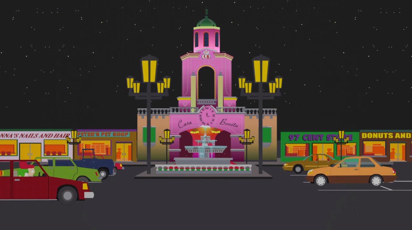 Casa Bonita Location South Park Archives Fandom