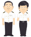 Chinese Customs Officers