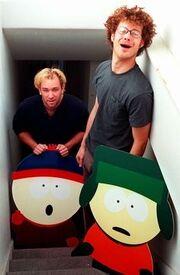 Matt and Trey in 1997.jpg
