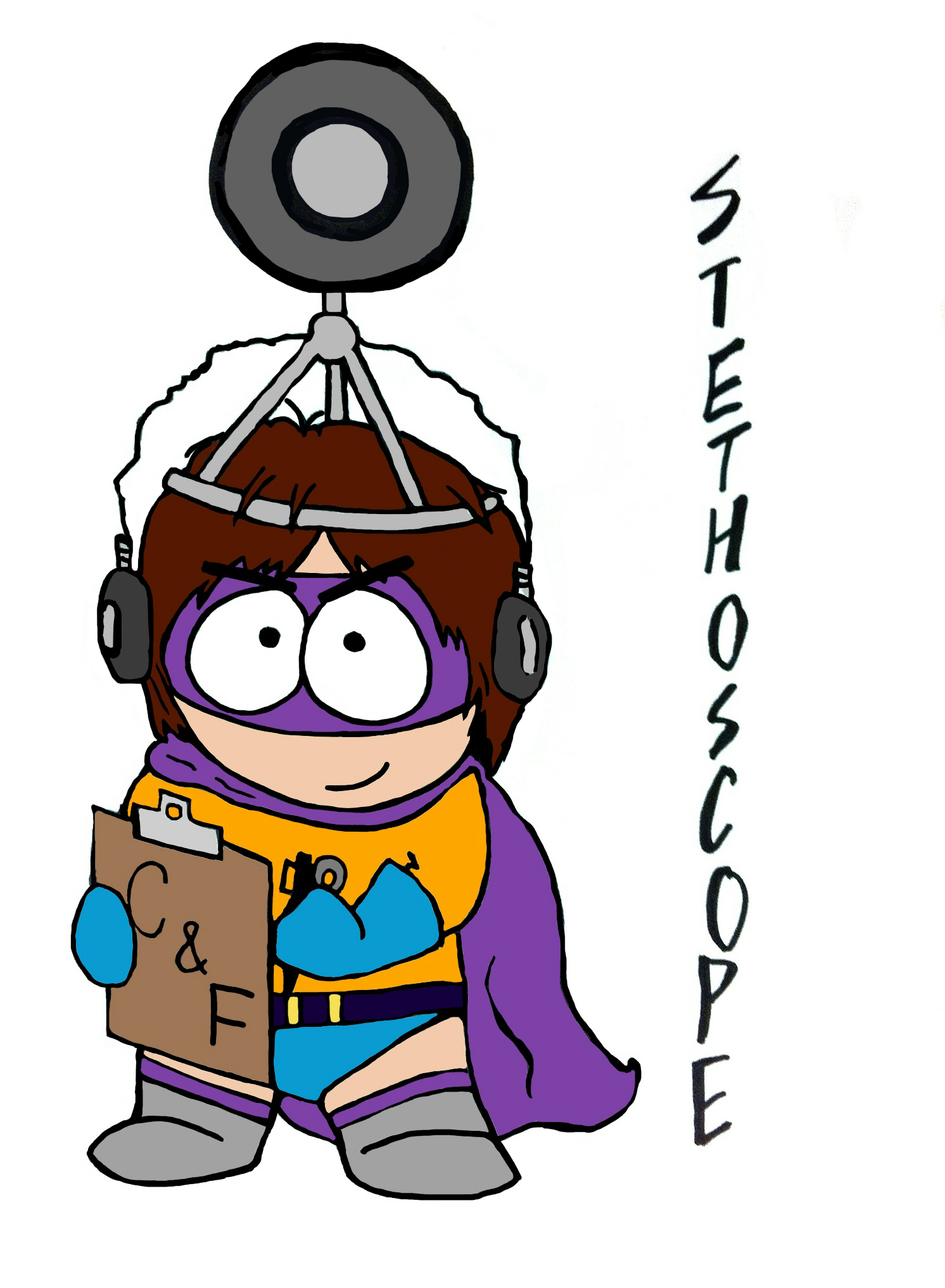 Mysterion Has TittyVision