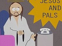 Jesús conduciendo Jesús y sus Amigos