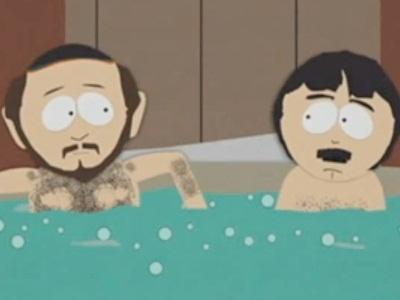 Dos Hombres Desnudos en un Jacuzzi