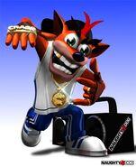 Crash hiphopa
