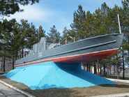 Бронекатер БК-302 в Хабаровске