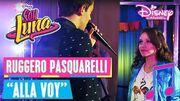 "SOY LUNA 2 - Ruggero Pasquarelli singt ""Allá Voy"" 🎵💜 (Folge 120)"