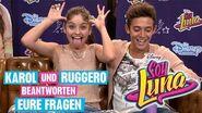 SOY LUNA 2 - Karol und Ruggero beantworten EURE FRAGEN