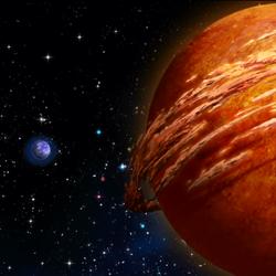 Planet Betelgeuse