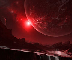 Red Palioxis Planet