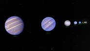 19-LMi-System Planeten