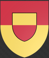 Inspired by Relfia, Halcomia made it's own coat-of-arms. due to less human influence, it's charge is another shield instead of an earth-animal.