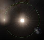 Alpha Centauri B b Umlaufbahn