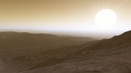 Alpha Centauri B b Oberfläche