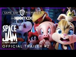 Space Jam- A New Legacy - Official Trailer -2 - HBO Max