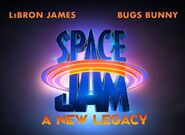 Space Jam A New Legacy Title