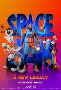 SpaceJam A New Legacy poster