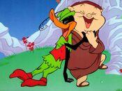 Daffy Duck - Porky Pig -