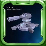Spike - Medium Beam Turret