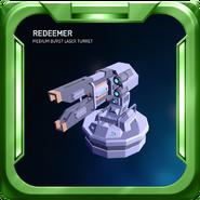 Redeemer - Medium Burst Laser Turret