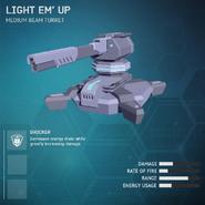 Light Em' Up - Medium Beam Turret V2