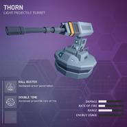 Thorn - Light Projectile Turret V2