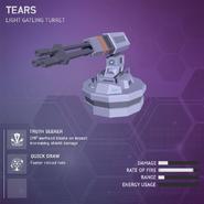 Tears - Light Gatling Turret V2