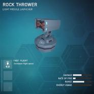Rock Thrower - Light Missile Launcher V2
