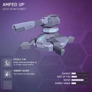 Amped Up - Light Beam Turret V2