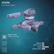 Spark - Light Beam Turret v2