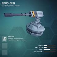 Spud Gun - Light Projectile Turret V2