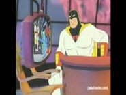 Space Ghost Reviewing His Own Show
