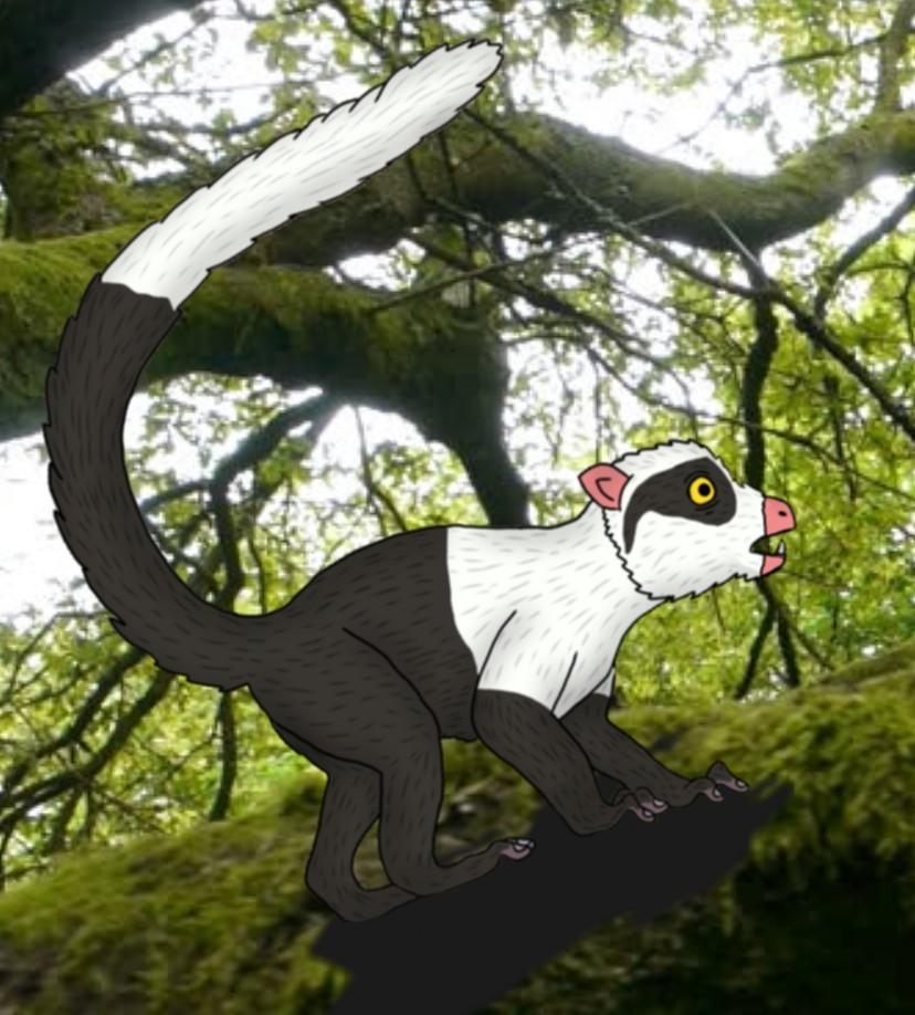 Capuchin lemur (New Pleistocene)