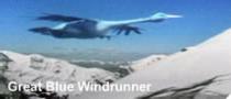 Great blue windrunner