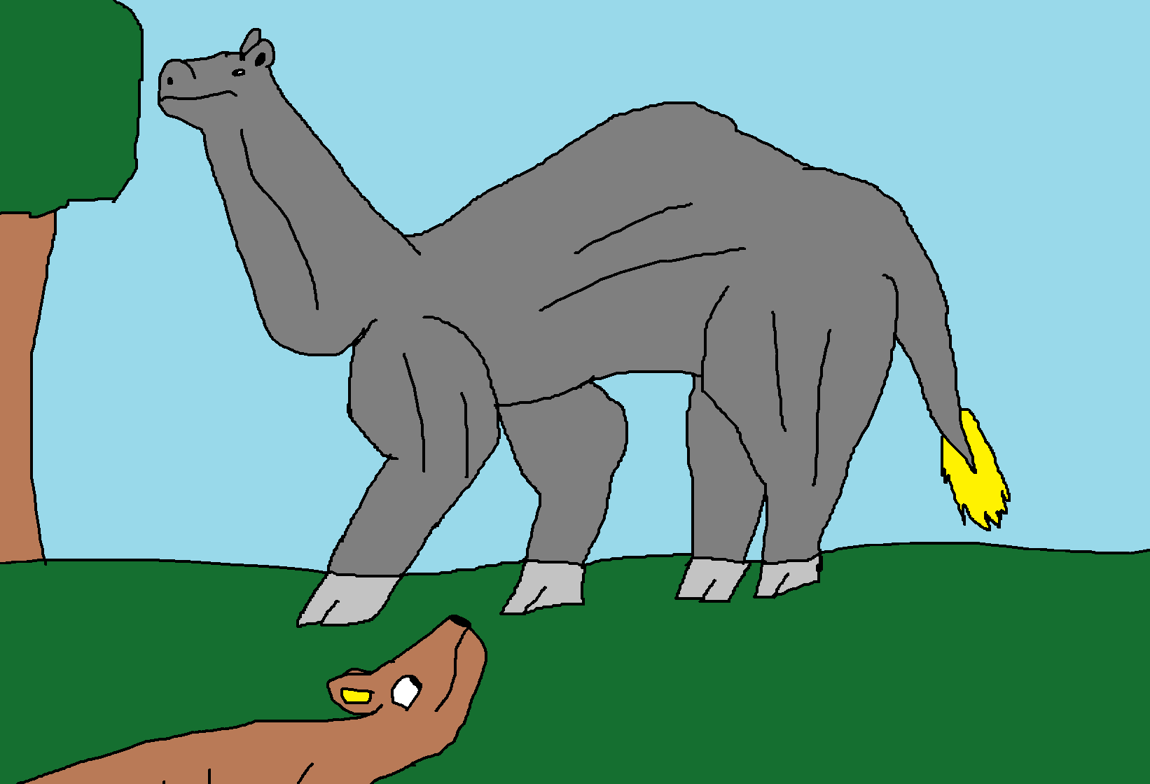 Giganocamelus ( Fire and Ice )