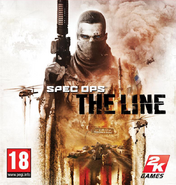 Spec Ops-The Line European cover art