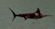 Undead blue marlin