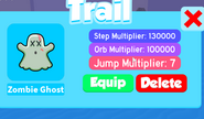 Zombie ghost