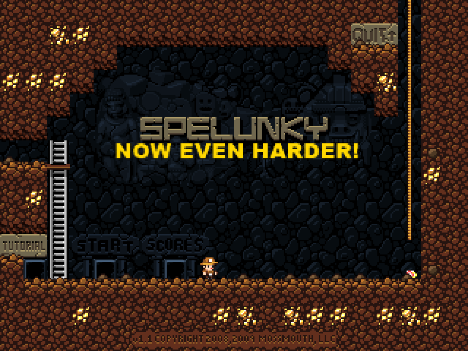 Spelunky (Now Even Harder!)