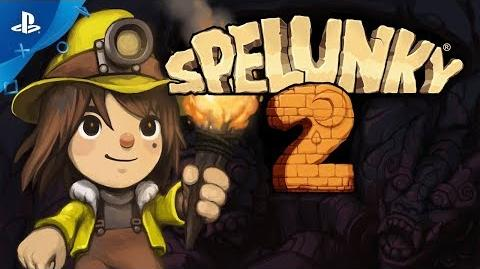 Spelunky 2 - Gameplay Trailer - PS4