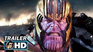 """AVENGERS ENDGAME """"Thanos Attacks Iron Man"""" TV Spot Trailer NEW (2019) Marvel"""