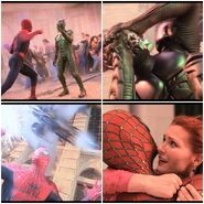 Spiderman vs Green Goblin Unity Festival