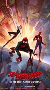 Spider-Man- Into The Spider-Verse Trio Poster