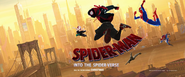 Spider-Man Into The Spider-Verse Promo Banner